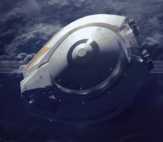 The New Jupiter 2 from Netflix's Lost In Space