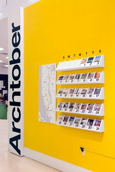 The festival calendar is made of collectible cards that feature each Building of…
