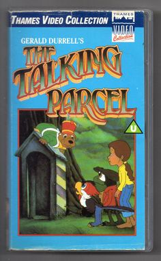 THE TALKING PARCEL (1984) PAL VHS (40 MINS) THAMES VIDEO RELEASE! RARE VIDEO! Gerald Durrell, Vhs Cassette, Rare Videos, Animation, Film, Anime, Ebay, Movie, Film Stock