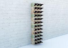 Estanterías modulares | Almacenamiento | CRAFTWAND® - wine rack ... Check it out on Architonic