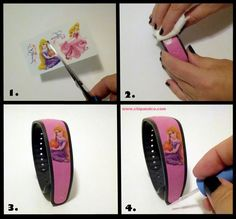 Disney Craft | How to decorate your Magic Bands with Character!