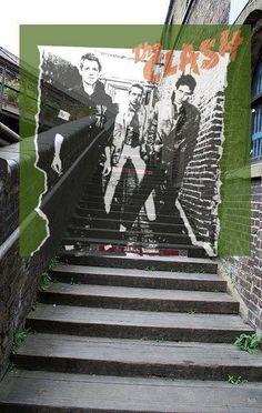 Location of The Clash Album Cover Today [via Different Kitchen Tumblr]