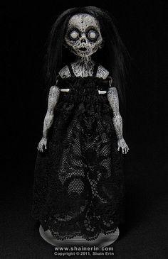 Evangelina- Ghost Art Doll   Flickr - Photo Sharing!