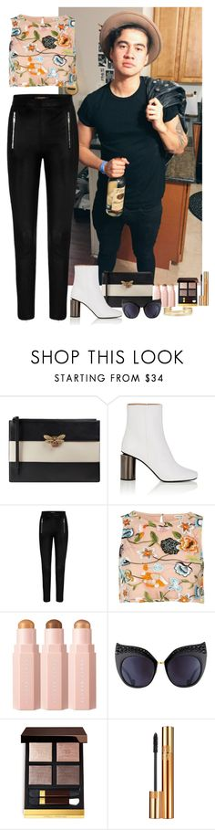 """Calum Hood #23"" by ambere3love34 ❤ liked on Polyvore featuring Gucci, Acne Studios, River Island, Anna-Karin Karlsson, Tom Ford, Yves Saint Laurent and Stella & Dot"