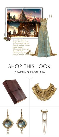 """Asgard  (Thor)"" by greerflower ❤ liked on Polyvore featuring Bow & Arrow, H&M, Armenta and Alexander McQueen"