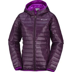 Columbia Flash Forward Hooded Ladies Down Jacket available from Blackleaf