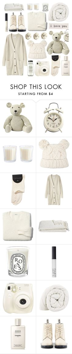 """""""Winter Wonderland"""" by julesdiaries ❤ liked on Polyvore featuring Anne-Claire Petit, Dorothy Perkins, La Garçonne Moderne, Madewell, Crate and Barrel, Diptyque, NARS Cosmetics, Chanel, Dr. Martens and cozy"""