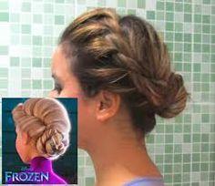 penteado frozen - Pesquisa Google
