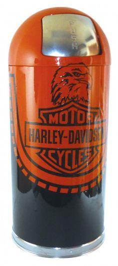 1060: Petroliana, Harley-Davidson Motorcycles Round-top Metal