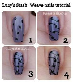 Nail Art Tutorial www.finditforweddings.com Nails