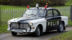 Hur många minns du? Volvo Amazon, Old Police Cars, Volvo Cars, Koenigsegg, Rally Car, Interesting History, Fire Department, Cars And Motorcycles, Used Cars