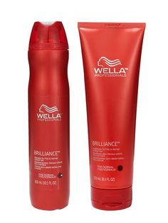 Allure's 2011 Best Shampoo and Conditioner for Color-Treated Hair: Wella Professionals Brilliance Shampoo and Conditioner