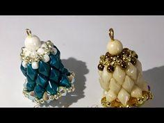 Campanella con perline diamond duos - YouTube