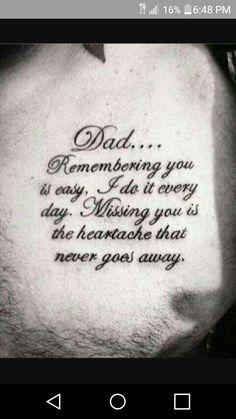 70 Dad Tattoos for Men – Memorial Ink Design Ideas – Cute Tattoos Daddy Tattoos, Father Tattoos, New Tattoos, Body Art Tattoos, Tattoos For Guys, Tatoos, Tribute Tattoos, Tattoo Life, Tattoo Tod