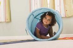 how to make a sensory tunnel