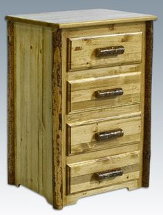 Montana Woodworks Glacier Country 4Drawer Chest -- Read more at the image link. (This is an affiliate link)