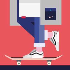 Trendy Digital Illustrations with Fashion Brands – Fubiz Media
