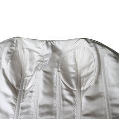 Vogue Bridal Strapless White Cocktail Dress