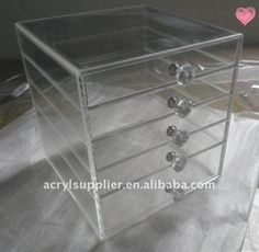 Makeup organizer with drawers. Photo from www.alibaba.com