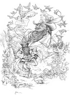 """Tom Bombadil by NachoCastro.deviantart.com on @deviantART - From """"Lord of the Rings"""""""