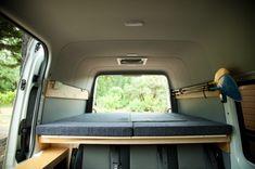 Folding Beds | Sprinter Van Camper Conversion - Southern California