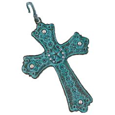 Western Pendant-Horseshoes with Star/Turquoise