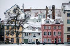 Streets of Rīga   Latvia (by pas le matin)