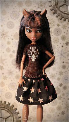 Clawdeen Christmas, Monster High