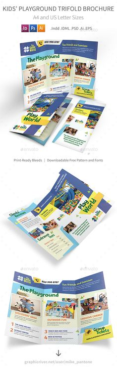 215 Best Trifold Brochure Templates Images Flyer Design Brochure