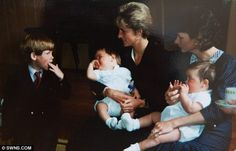 The twins don't remember meeting Princess Diana or Prince Harry but the late Princess was a great friend of their mother