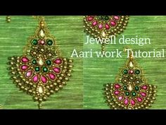 Making Beautiful design by aari work embroidery Aari Embroidery, Hand Embroidery Videos, Bead Embroidery Patterns, Embroidery Stitches Tutorial, Embroidery Works, Simple Embroidery, Embroidery Designs, Hand Work Blouse Design, Simple Blouse Designs