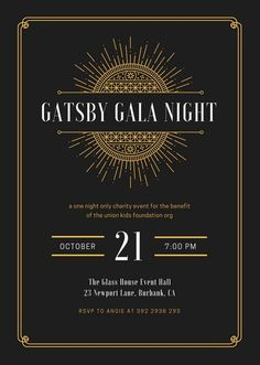 Great Gatsby Invitation Wording Beautiful Customize 64 Great Gatsby Invitation T. Great Gatsby Invitation Wording Beautiful Customize 64 Great Gatsby Invitation Templates Online Can Great Gatsby Party, Great Gatsby Invitation, Art Deco Invitations, Gatsby Themed Party, Invitation Flyer, Printable Invitation Templates, The Great Gatsby, Invitation Wording, Card Templates