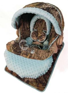 Baby boy camo car seat cover - Gaga Baby Gear | FollowPics