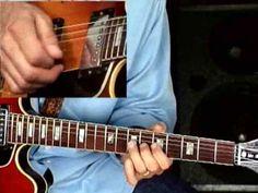 #Blues #Guitar #Lesson - Larry Carlton - 335 Blues - Melodic Minor Blues