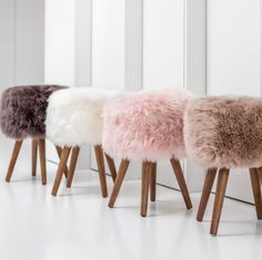 Look to the New Zealand Sheepskin Stool to dress up your favorite spaces. Shop the Apollo Box for accent stools and trendy home decor. Bedroom Stools, Room Design Bedroom, Girl Bedroom Designs, Room Ideas Bedroom, Rose Gold Room Decor, Gold Rooms, Bedroom Decor For Teen Girls, Trendy Home Decor, Cute Room Decor