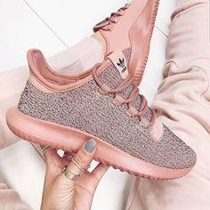 Adidas Tubular Shadow rose gold / women's running sneakers