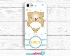 Yukai Neko Beige Kawaii Happy Cat  Hard Case for by MobiLove, £10.00