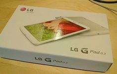 LG G Pad 8.3 delivered to the Nordic digital team. Good times!