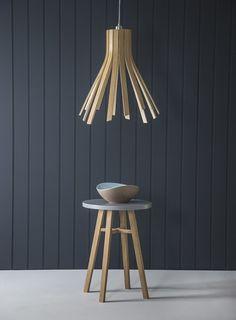Flux Light_Tom Raffield_Steam bent lighting and furniture