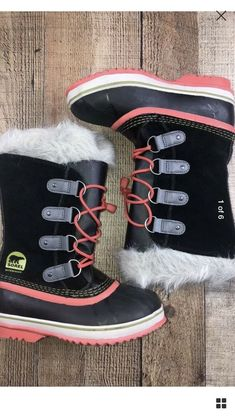 NWT Girls Boots Brown Pink Faux Fur Lining Circo Jayla 5 7 10