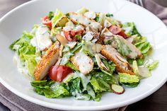 Honey Mustard Chicken Chopped Salad, Anything but Dainty