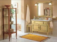 Arredo3´s lantliga kök Edmo Vanity, Bathroom Vanity, Bathroom, Double Vanity