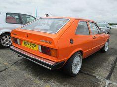 Brittish LHD Orange Scirocco S