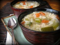 Chunky Turkey-Vegetable Soup | Recipe | Soups, Martha Stewart and ...