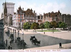 The Vanderbilt Mansion, Fifth Avenue and 58th Street.
