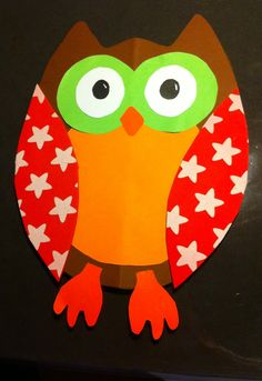 Owl craft idea for kids crafts and worksheets for preschool, Owl Crafts, Crafts For Kids, Arts And Crafts, Toddler Art Projects, Projects For Kids, Kindergarten Fun, Preschool, Art Therapy Projects, Wallpaper Iphone Disney