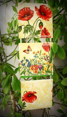 Cadou casa noua, Cadou personalizat, Tablou handmade, Tablou intrare in casa Decoupage, Mac, Gift Wrapping, Gifts, Gift Wrapping Paper, Presents, Wrapping Gifts, Favors, Gift Packaging