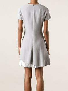 Victoria Beckham - pleated hem dress 9