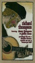 Voodoo Catbox [ T ] Prints Gary Houston, Richard Thompson, Folk Music, Psychedelic Art, Acoustic, Singers, British, Traditional, Rock