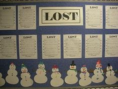 Lost! Create a snowman, and describe the snowman so that others can find the one that is yours. Great writing lesson for using adjectives and being more descriptive